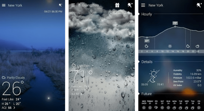 GO Weather Forecast & Widgets Best Weather Apps for Android