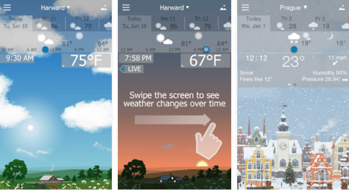 Precise Weather YoWindow Best Weather Apps for Android