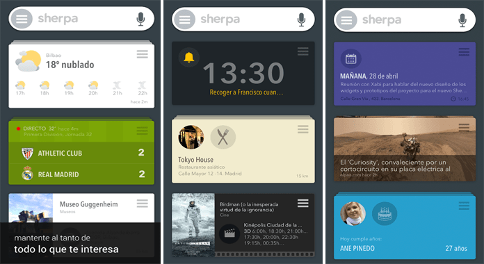 Best Personal virtual Assistant Apps for Android like siri SHERPA BETA Personal Assistant