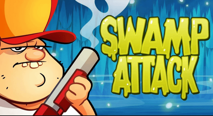 Best Free Action Games for Android swamp attack