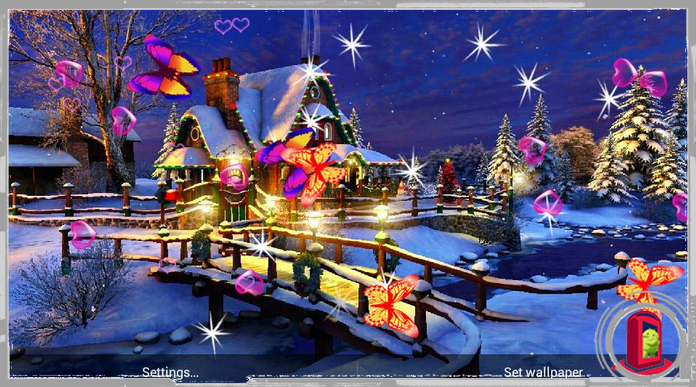 Best 3D Christmas Live Wallpapers for Android
