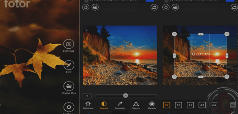 Best Photo Editing Apps for Android OS Fotor Photo Editor