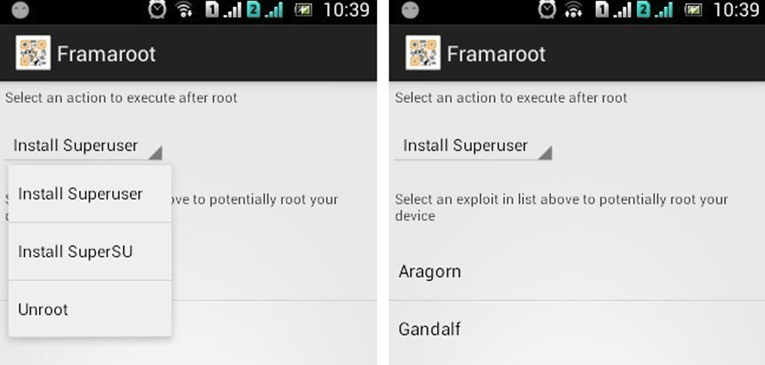 How to Root Android Device Using Framaroot with One Click without Computer