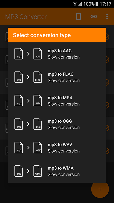 MP3 Converter for Android 3