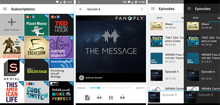 Best Podcast Apps for Android AntennaPod Free Download