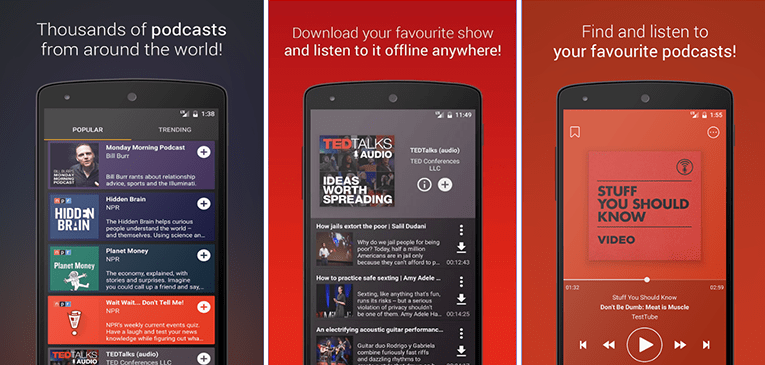 Best Podcast Apps for Android Podcast Go