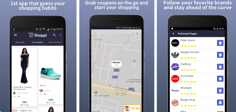 Shoppi for Android Make Your Shopping is Personal!