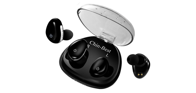 Best Wireless Bluetooth Earbuds for Smartphone Chin-Best Touch Control Wireless Bluetooth Earbuds