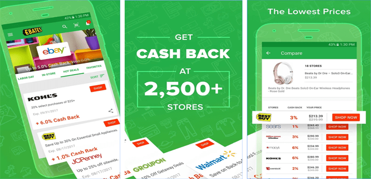 Best Coupon Apps for Android Ebates Save Money With Coupon Deals & Cash Back