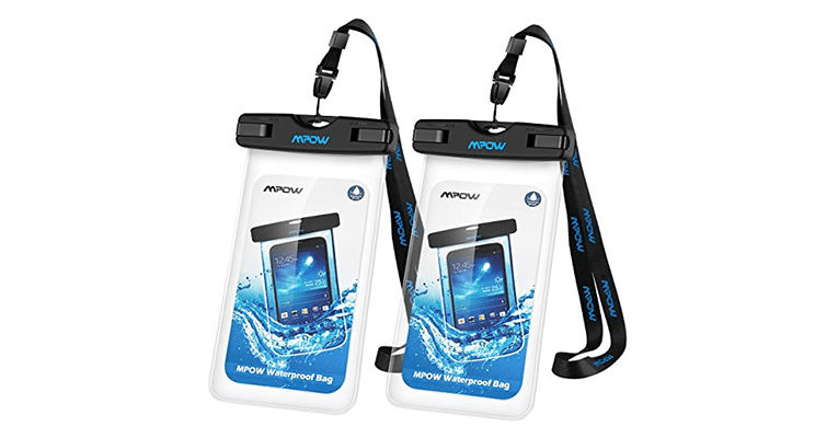 Best Smartphone Accessories Android and IOS Mpow Universal Waterproof Case,