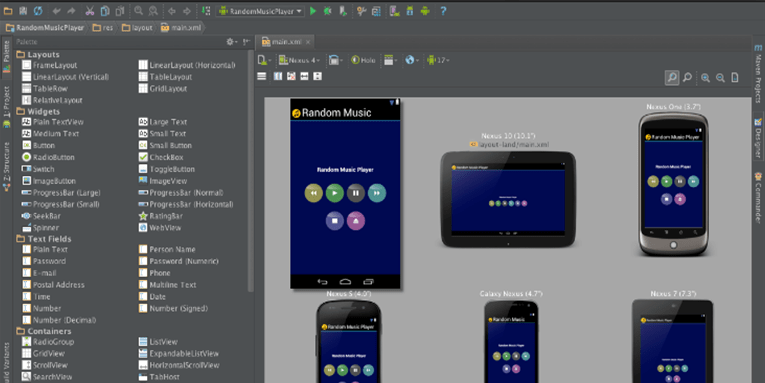 Creating Android App on Android Studio