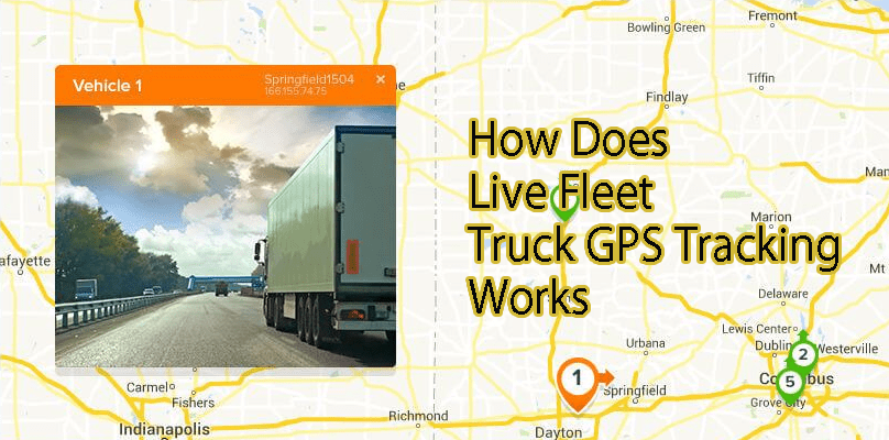 How Does Live Fleet Truck GPS Tracking Work