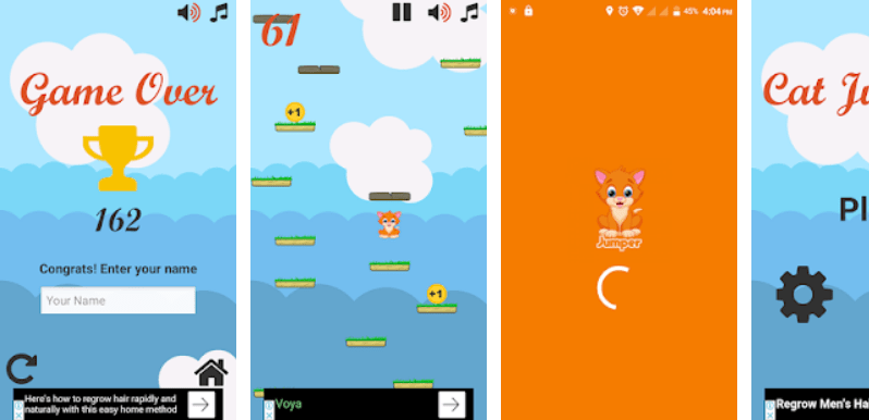 Cat Jumper - A Strategy and Fun Game for Android