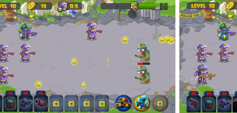 Marines vs Zombies Destroy Zombie Battle Game Android