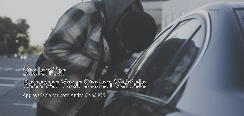 StolenCar App for Android IOS - Recover Your Stolen Vehicle