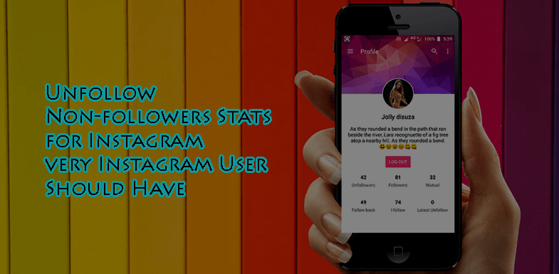 Unfollow - Non-followers Stats for Instagram App for Android