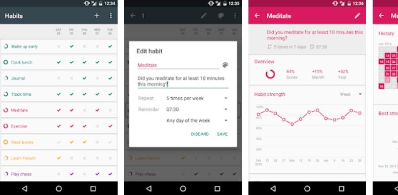 Habit maker Habit Tracker Loop