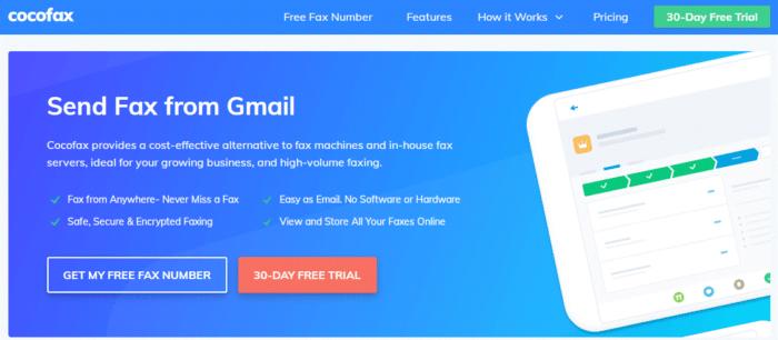 CocoFax Online Solution