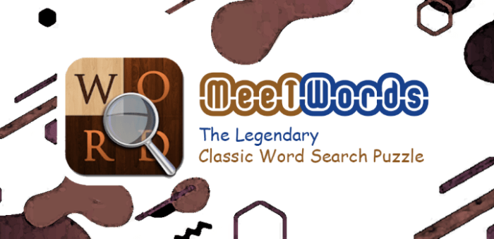 MeetWords Word Search Puzzle