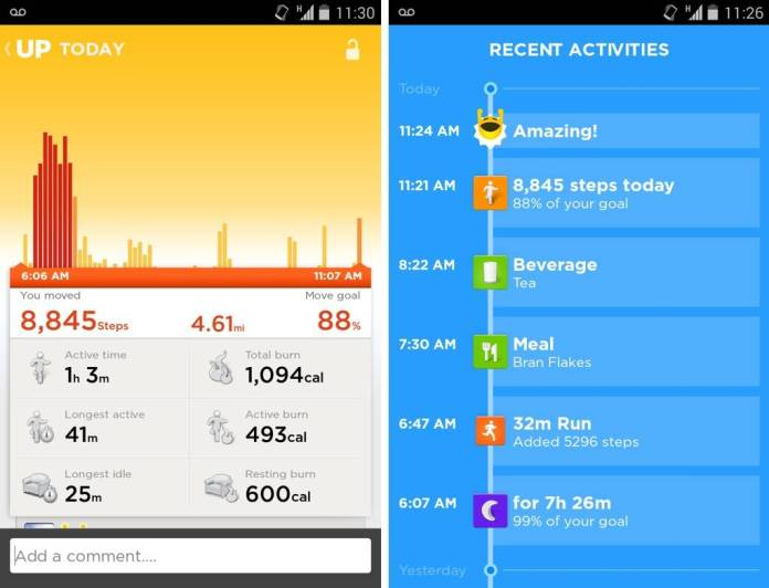 jawbone up 24 android