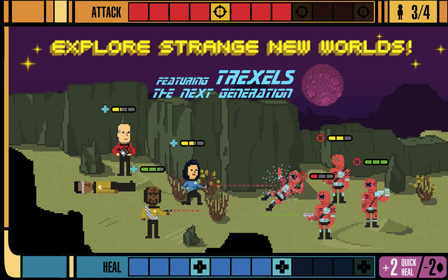 Star Trek Trexels For Android Now Live On Google Play Store