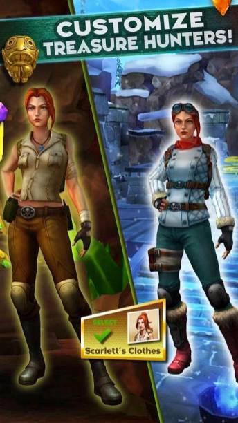 Temple Run- Treasure Hunters 6