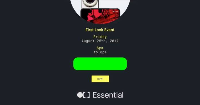 Essential Phone Event