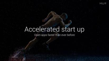 MIUI 9 Accelerated Start up