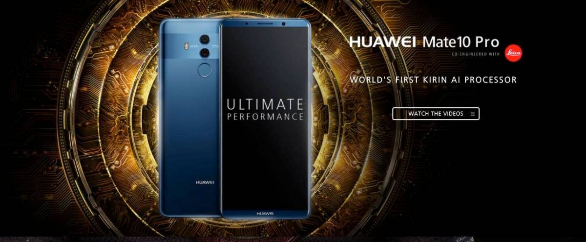Huawei Mate 10 Pro to be released in the UK, here's when exactly