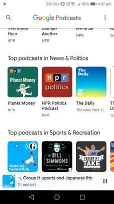Google Podcasts 4
