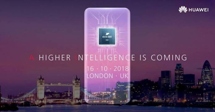 Huawei Mate 20 official invite