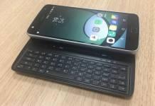 Slider Keyboard Moto Mod for the Moto Z