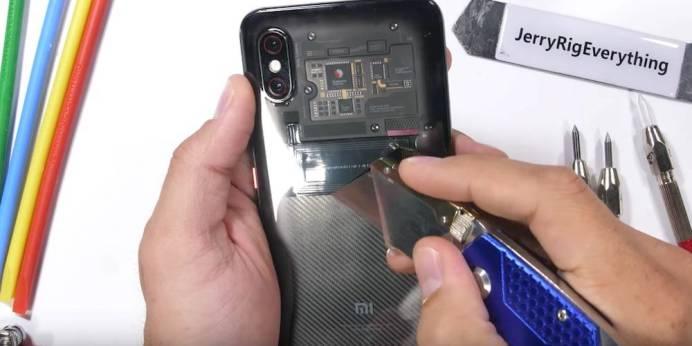 Xiaomi Mi 8 Explorer Edition Durability Test 9