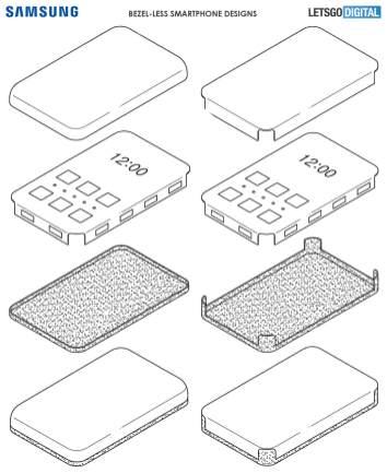 Samsung smartphone borderless design 2