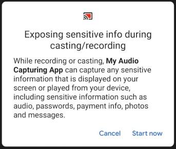 Android Q Audio C
