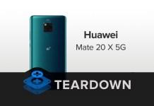 Huawei Mate 20 X 5G Teardown