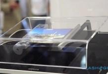Sony flexible display foldaphone phone