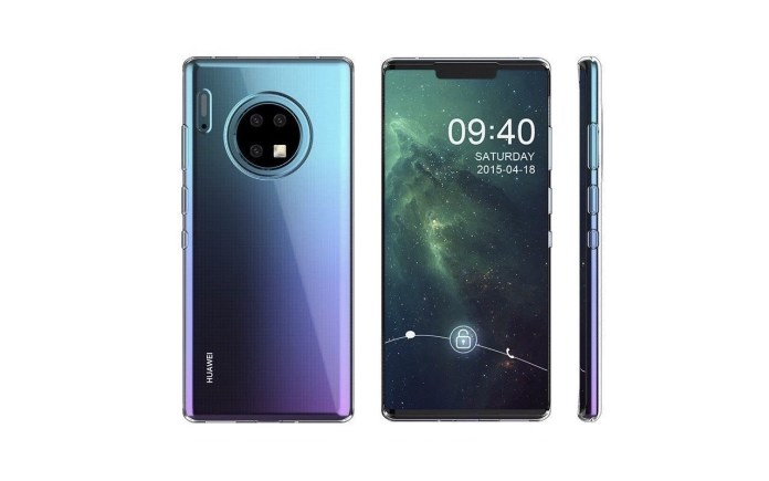 Huawei Mate 30 Concept Image