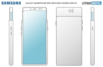 Samsung Galaxy S11 Plus slider