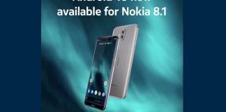 Android 10 Nokia 8.1