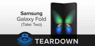 Samsung Galaxy Fold Teardown Version 2