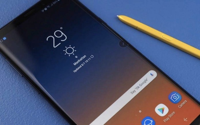 Samsung Galaxy Note 9 One UI 2.0 BETA Android 10