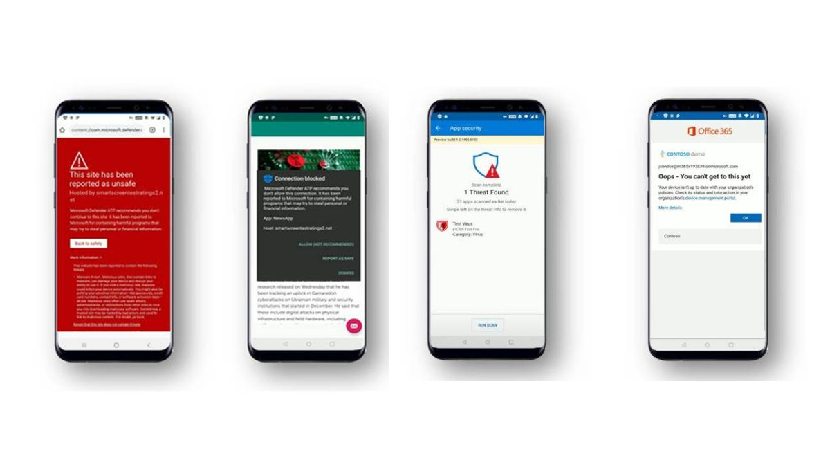Microsoft Defender ATP brings core security to Android devices ...