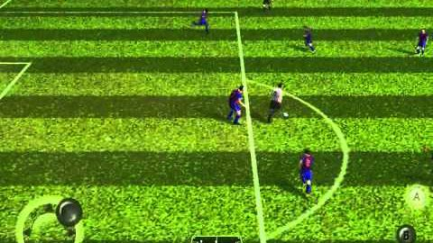 [Android game]FIFA10 play video