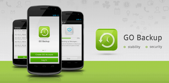 GO-Backup Android App