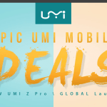 UMI Greatest Sale – Save up 30% on UMI Smartphones at GearBest