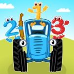 Blue Tractor Games for Toddlers 2 Years Old! Pre K 1.1.4 APK MOD