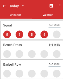 StrongLifts is an absolute gym app that trains you with the each minor detail of instruction that you can aspect to receive from a hired personal trainer.