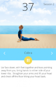 easy daily yoga workouts android app
