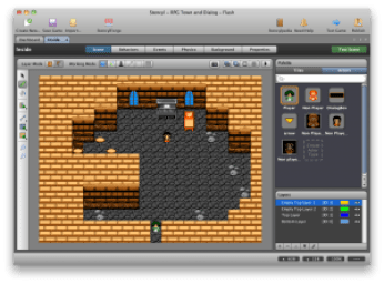 drag and drop Game development tool